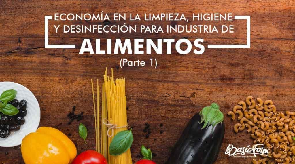 desinfeccion de alimentos industriales