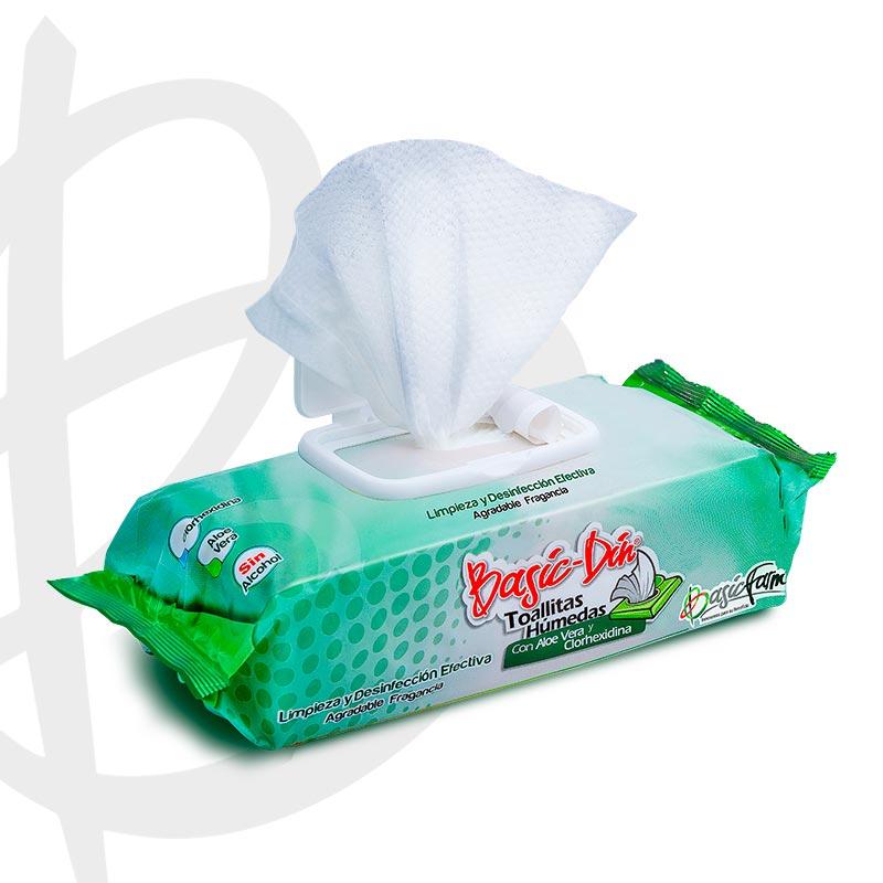 basic din toallitas humedas 100