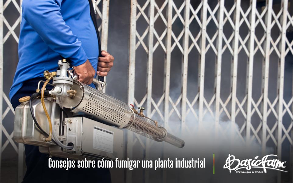 Consejos sobre cómo fumigar una planta industrial