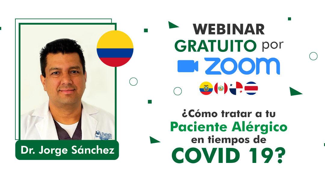 Cómo identificar a un paciente alérgico | Webinar Dr. Jorge Sánchez