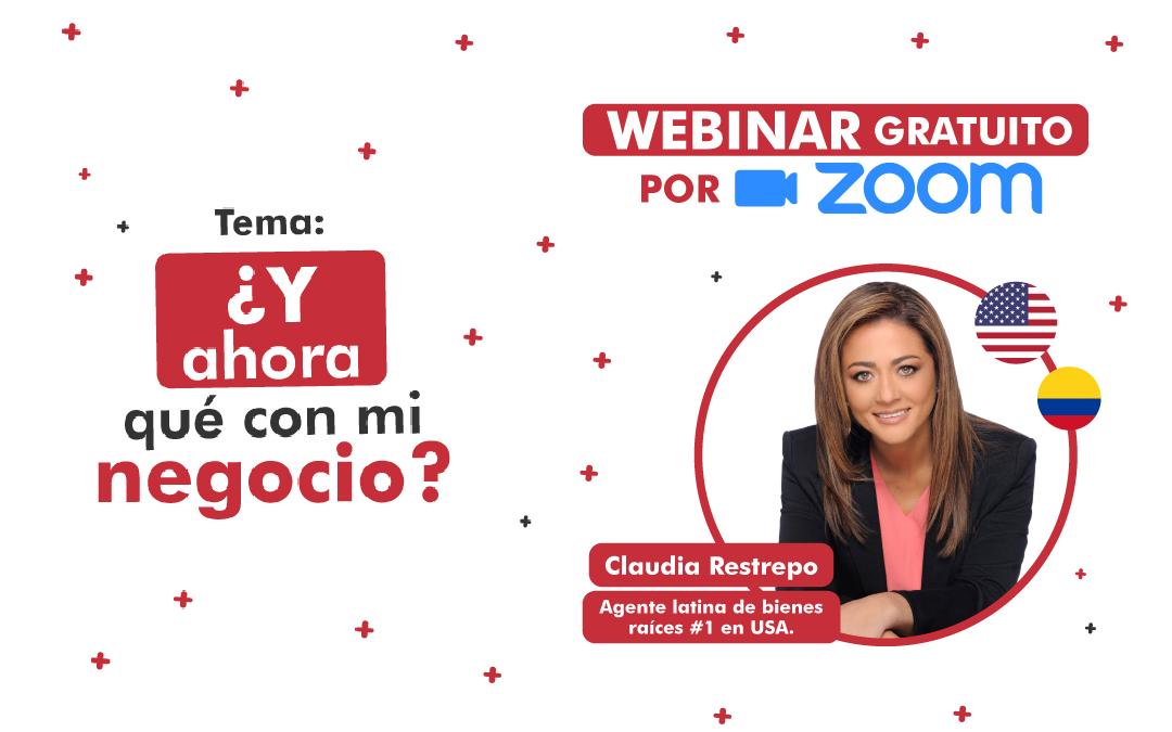 Y ahora qué con mi negocio? | Webinar Dra. Claudia Restrepo