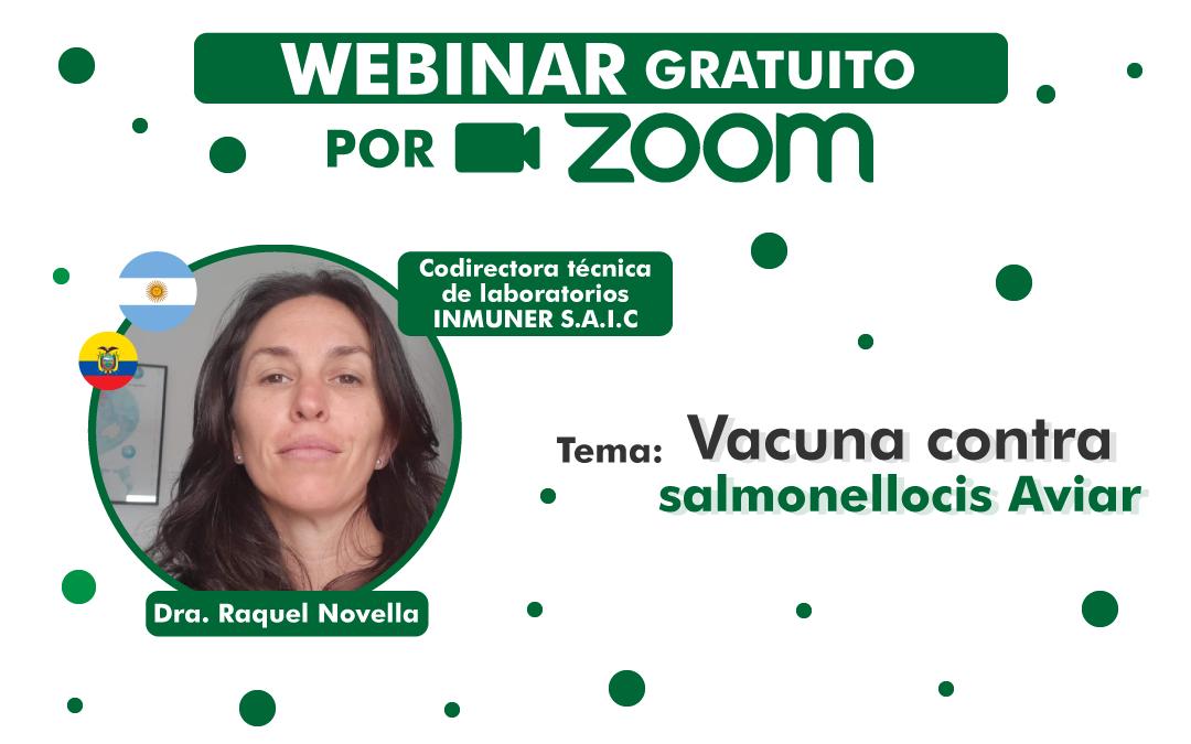 Vacuna contra la Salmonelosis Aviaria | Webinar M.V Raquel Novella