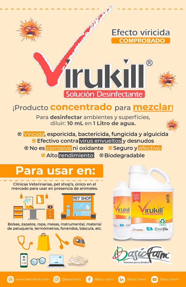 virukill desinfectante basic farm