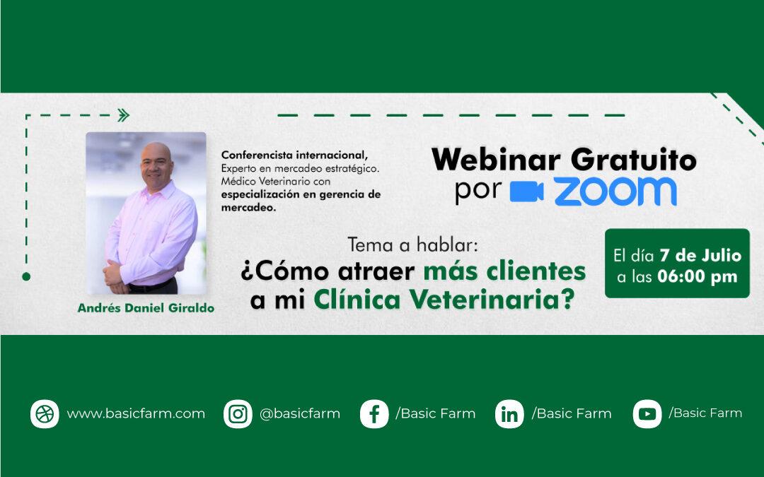 Cómo atraer más clientes a mi clínica veterinaria | Webinar Dr. Andrés Giraldo