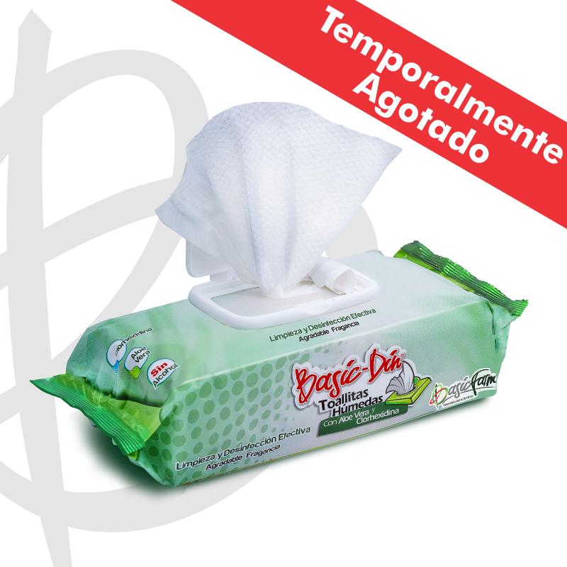 basic din toallitas humedas producto