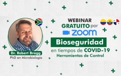 Predicciones y control – COVID-19 | Webinar Prof. Rob Bragg