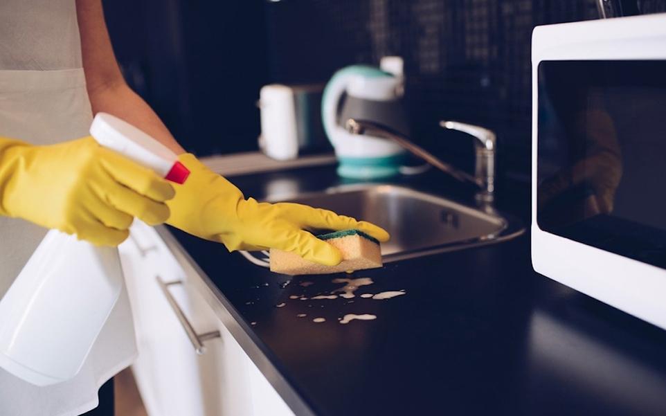 limpia cocina mas una vez al dia