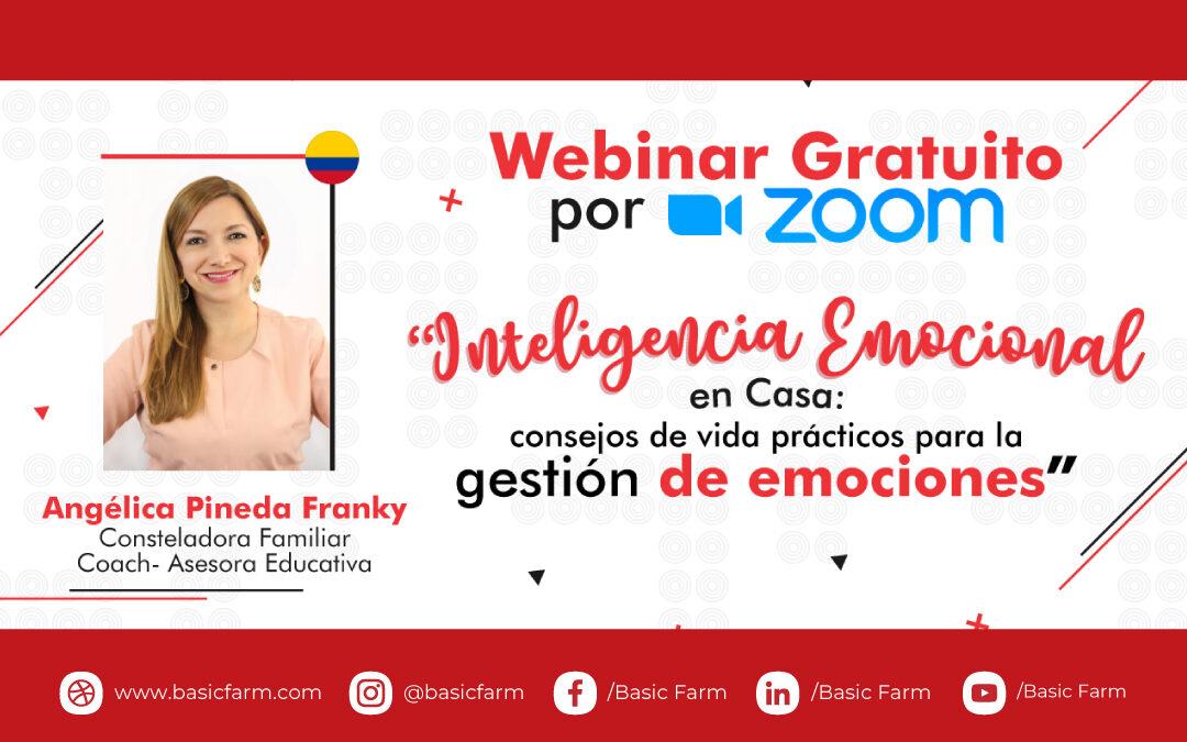 Inteligencia emocional en casa | Webinar con Angélica Pineda