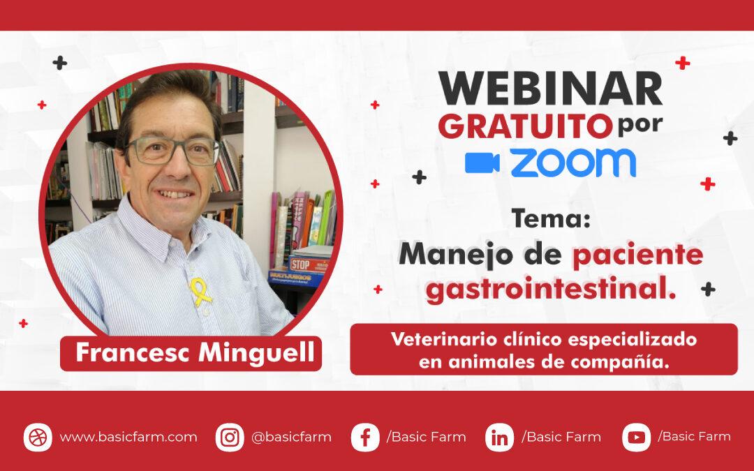 Manejo de paciente gastrointestinal | Webinar Dr. Francesc Minguell