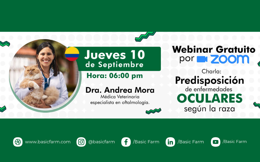 Predisposición de enfermedades oculares | Webinar Dra. Andrea Mora