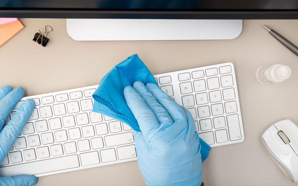 limpieza teclado