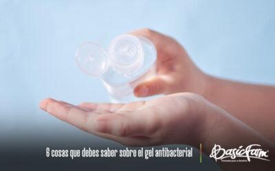 6 cosas que debes saber sobre el gel antibacterial