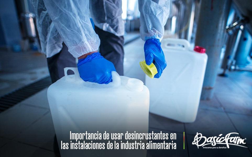 Razones para usar desincrustantes en la limpieza industrial