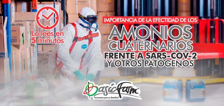 Importancia de los Amonios Cuaternarios
